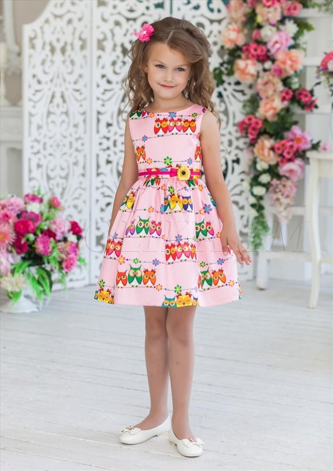 Показать Платья Для Девочек