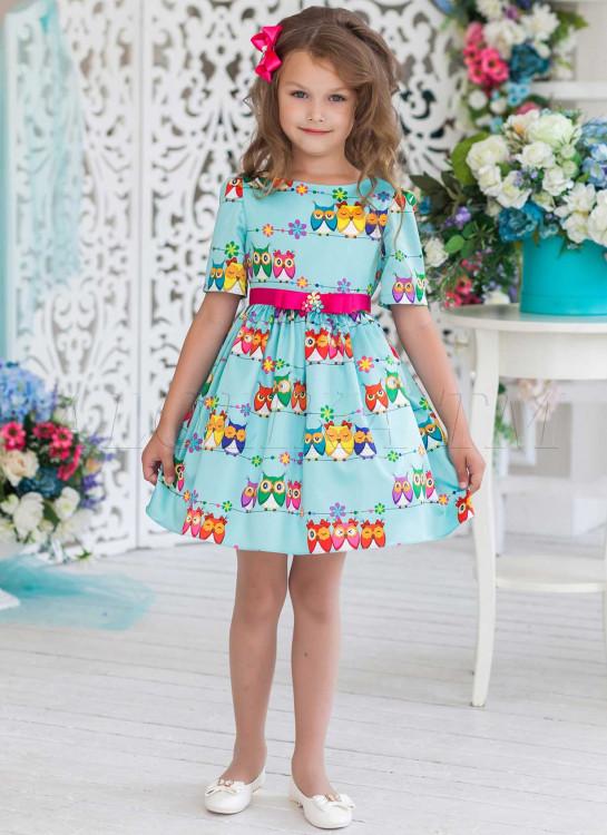 14b087c39bf Платье праздничное Мудрена ПЛ-1823 мята - купить в интернет-магазине ...