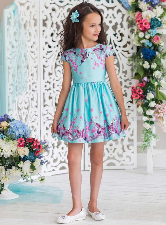 cc622aefeea Платье праздничное Магдалена ПЛ-1820 мята - купить в интернет ...