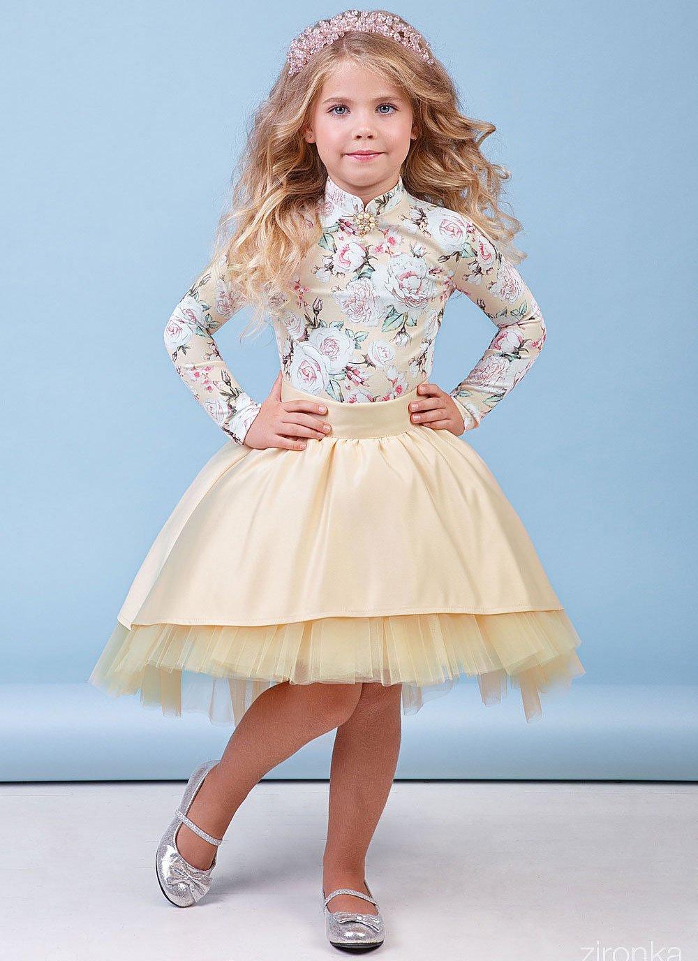 268b66c84d5 Комплект блузка+юбка 64-8038-1 - купить в интернет-магазине детской ...